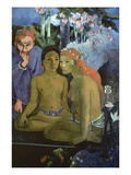 Contes Barbares Giclee Print by Paul Gauguin