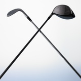 Two Golf Clubs Photographic Print