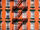 Apartment building Photographic Print