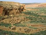Chaco Canyon Ruins Photographic Print