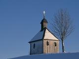 Chapel in Murnau, Bavaria Photographic Print by Hubert Stadler