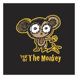 Year of the Monkey Lámina giclée