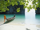 Spiaggia dell'isola di Ko Hong Stampa fotografica di José Fuste Raga