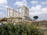Temple of Poseidon Photographic Print by Richard Nowitz