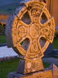 Gravestone at Church of Ireland Graveyard Photographic Print by Richard Cummins
