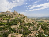 Hillside Town of Gordes in France Fotografie-Druck von José Fuste Raga