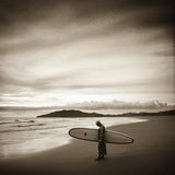 Man Surfing Photographic Print by Richard Schultz