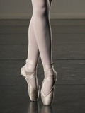 Ballerina en pointe Photographic Print by Erik Isakson