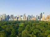 View of Central Park Southwest from Hot Air Balloon Photographic Print by Andria Patino