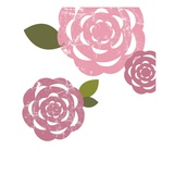 Pink roses Giclee Print by Anne Bryant