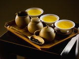 Oolong Tea Served with Japanese Tea Set Fotografie-Druck von Bruno Ehrs