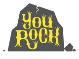 You rock Giclee Print by Kirsten Ulve