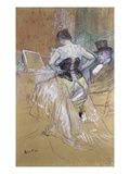Woman at her Toilet, Study for 'Elles' Lámina giclée por Henri de Toulouse-Lautrec