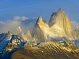 Rugged Mountain Peaks Photographic Print by John Eastcott & Yva Momatiuk