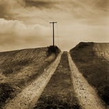 Farm Road Photographic Print by Tom Marks