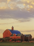 A Farm in Wellington, Ontario, Canada Photographic Print by Mike Grandmaison