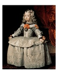 Portrait of the Infanta Margarita Aged Five Giclee Print by Diego Rodriguez de Silva y Velazquez