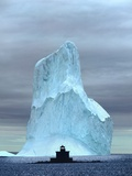 Iceberg, Witless Bay , Newfoundland, Canada. Photographic Print by  Barrett & Mackay