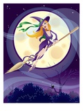 Sexy Witch Giclee Print by Jason Reilley