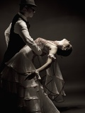 Couple Doing a Tango Photographic Print by Helios Loo
