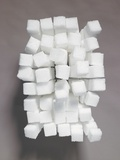 Stacks of sugar cubes Photographic Print