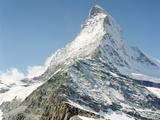 The Matterhorn Fotografisk tryk af Peter Bohler
