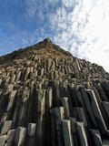 Columnar basalt along Iceland&#39;s South Coast Photographic Print by Layne Kennedy