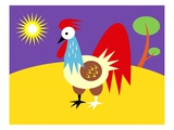 Rooster Giclee Print