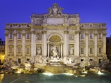 Laurie Chamberlain - Trevi Fountain in Rome - Fotografik Baskı