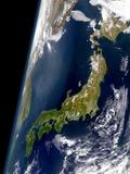 Japan Archipelago and Sea of Japan Photographic Print