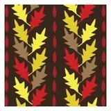 Autumn Pattern Giclee Print