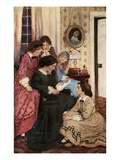 They All Drew to the Fire Giclee-vedos tekijänä Jessie Willcox Smith