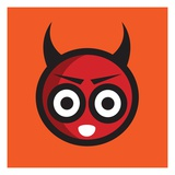 Devil Giclee Print by Sabet Brands