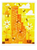 Busy Bees Giclée-Druck