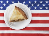 Patriotic apple pie Photographic Print by Fancy 