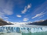Perito Moreno Glacier and Patagonian Andes Photographic Print by John Eastcott & Yva Momatiuk
