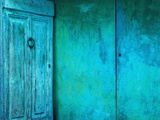 Turquoise Doors Photographic Print by Alison Shaw