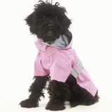 Black Poodle in Pink Raincoat Photographic Print by Pat Doyle