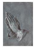 Main priant Reproduction procédé giclée par Albrecht Dürer