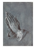 Albrecht Dürer - Praying Hands Digitálně vytištěná reprodukce