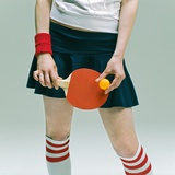 Table Tennis Player Photographic Print by Ryuhei Shindo
