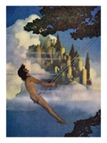 The Dinky Bird Giclée-Druck von Maxfield Parrish