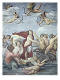 The Triumph of Galatea Reproduction procédé giclée par  Raphael