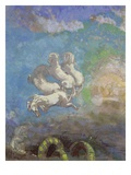The Chariot of Apollo Giclee Print by Odilon Redon