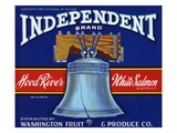 Independent Brand Fruit Crate Label Giclee Print