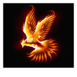 Phoenix Reproduction procédé giclée