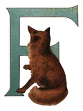 F Is For Fox Giclee Print