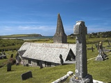 St. Enodoc Church and Cemetery Photographic Print by Nick Lewis