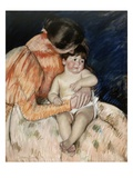 Mother and Her Child Giclee Print by Mary Cassatt