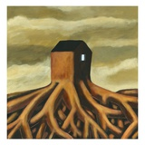 House with Roots Giclee Print